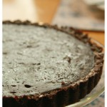 chocolatetart - the finished product