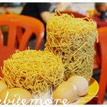 noodles and eggs