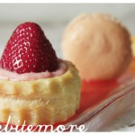 strawberry mousse vols au vent