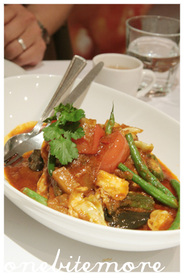 hot and sour mackerel with vegetables