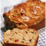 cranberry & date easter loaf