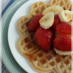 sour cream & spice waffles