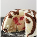 dbc july - swiss roll icecream cake