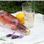 lavender & lemon cordial