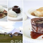 some of the desserts on offer at Taste of Sydney 2010; the grounds