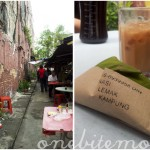 back streets and street food in klang, malaysia