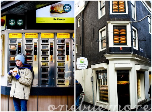 amsterdam streetscapes: cheeses of amsterdam