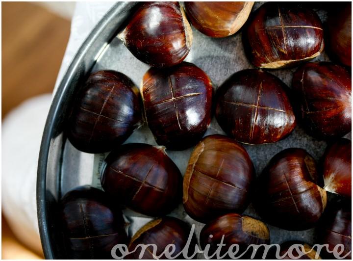 how to roast & peel a chestnut