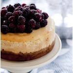cinnamon & honey baked cheesecake