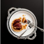 quince and macadamia tart